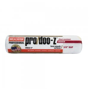 "Wooster PRO/DOO-Z® 9"" Roller Cover 3/8"" Nap - Case of 12"