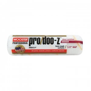 "Wooster PRO/DOO-Z® 9"" Roller Cover 1/2"" Nap - Case of 12"