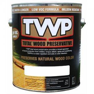 TWP® Wood Preservative Oil Stain, 1500 Series, 1 Gallon, Semi Transparent Colors - 1530 Natural