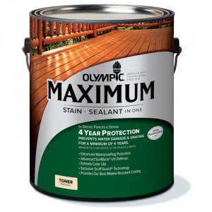 Olympic Maximum Wood Toner - Waterproofing Sealant - Ultra Clear