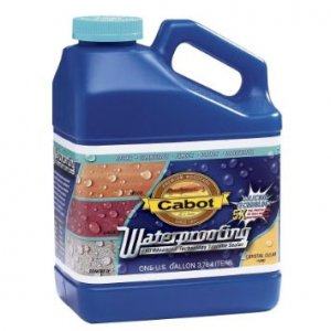 Cabot Waterproofing - 1000 - Silicone Water Based Wood Sealer