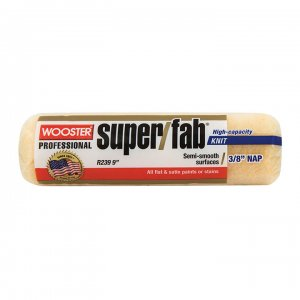 "Wooster SUPER/FAB®9"" Roller Cover 3/8"" Nap - Case of 12"