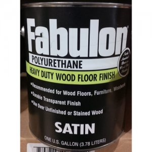 Fabulon Polyurethane Stain - Hardwood Floor Finish - Clear Satin