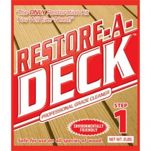 Restore A Deck Cleaner - Wood Restoration - Professional Grade