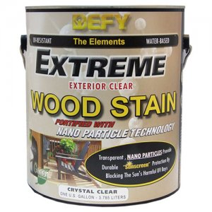 DEFY Extreme Clear Wood Stain - Deck Finish - Non Yellowing