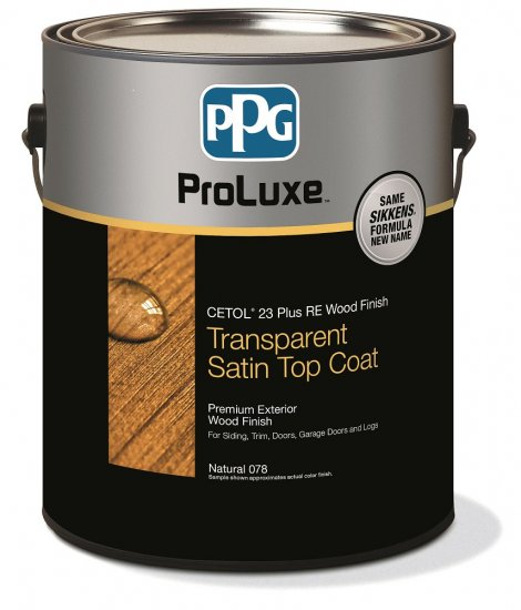PPG Cetol 23 Plus - Exterior Wood Stain Fence Finish - 1 Gallon, Translucent - 078 Natural - Click Image to Close