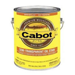 Cabot 0300 - Exterior Wood Stain - Semi Transparent Colors