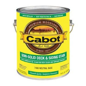 Cabot 1400 Semi Solid Deck Stain - Exterior Wood Finish - Colors