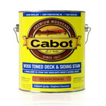 Cabot 3000 - Exterior Wood Stain Deck Finish - Matte Translucent, 1 Gallon - Natural