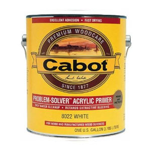Cabot Problem Solver Wood Cleaner - Acrylic Primer
