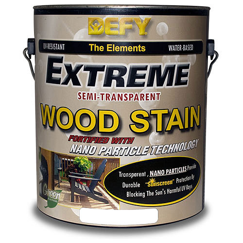 DEFY Extreme - Interior and Exterior Wood Stain- Semi-Transparent
