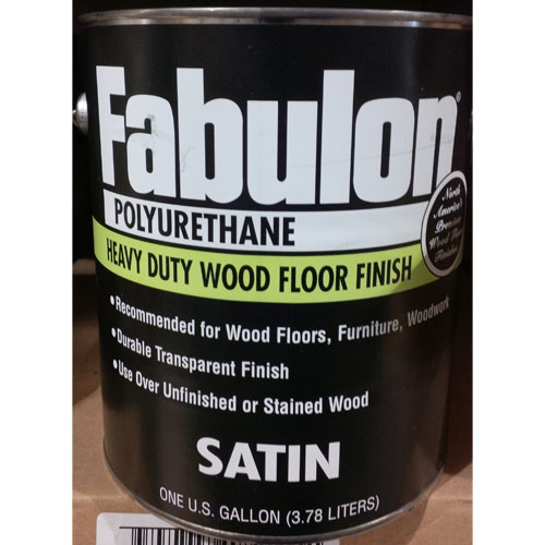 how to apply floor finish polyurethane