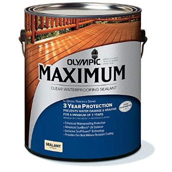 Olympic Maximum Wood Stain - Waterproofing Sealant - Ultra Clear