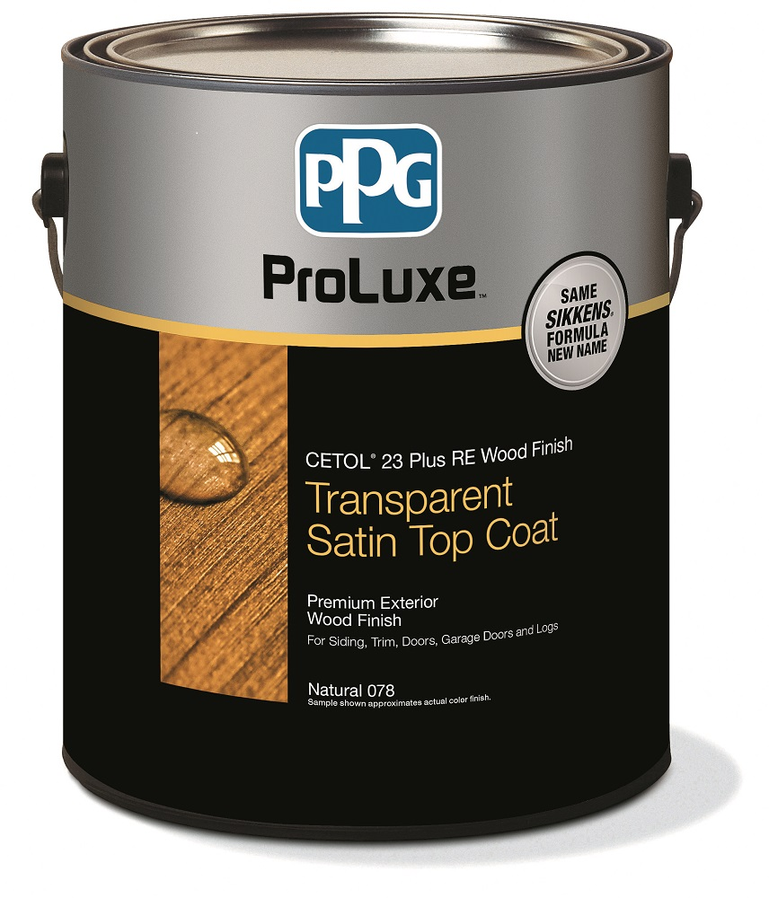 PPG Cetol 23 Plus - Exterior Wood Stain Fence Finish - Translucent Colors