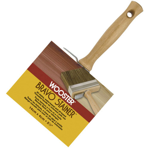 Wooster F5119 BRAVO STAINER™ BRISTLE/POLY brush