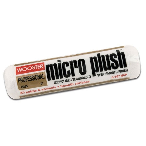 "Wooster MICRO PLUSH™ 9"" Roller Cover 9/16"" Nap - Case of 12"