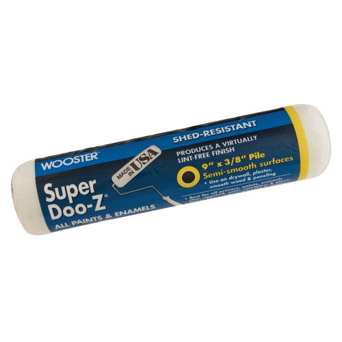 "Wooster SUPER DOO-Z® 9"" Roller Cover 1/2"" Nap - Case of 12"