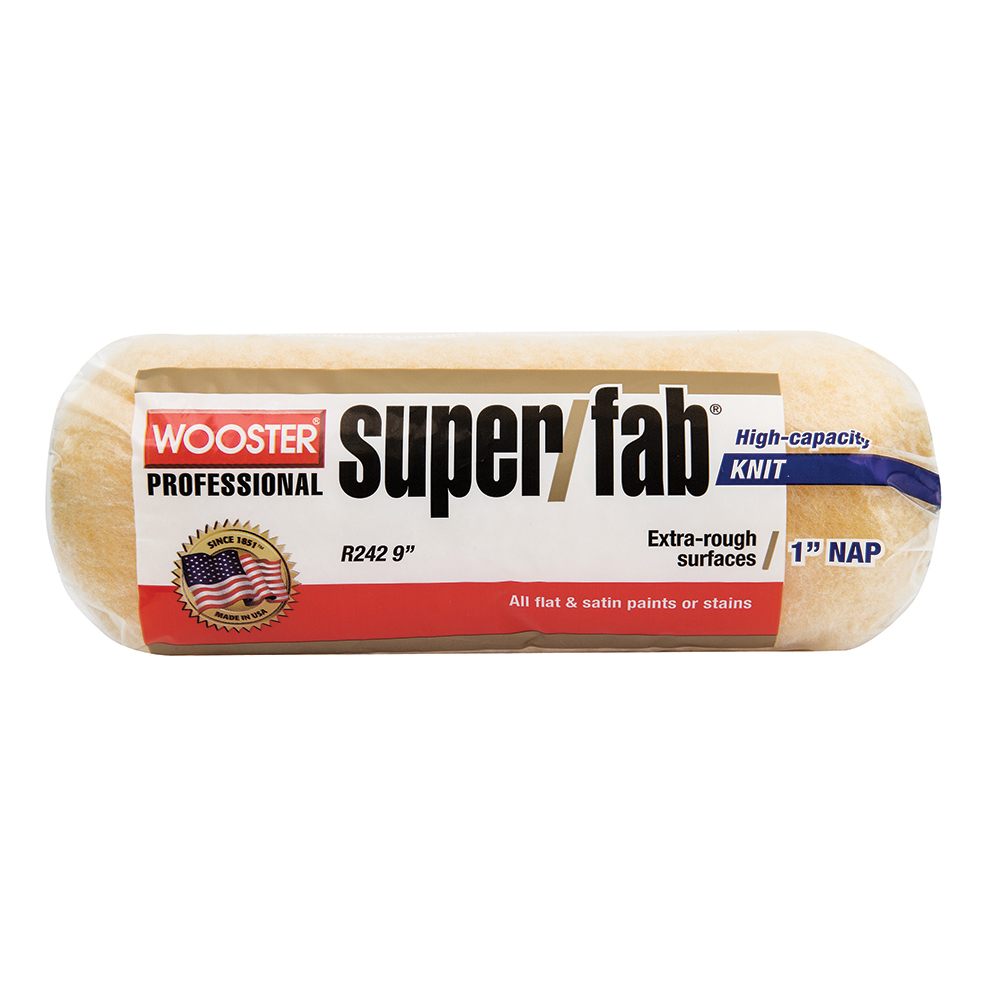 "Wooster SUPER/FAB® 9"" Roller Cover 1"" Nap - Case of 12"