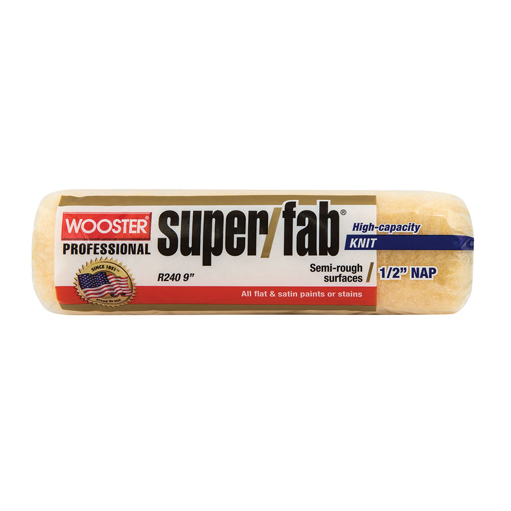 "Wooster SUPER/FAB® 9"" Roller Cover 1/2"" Nap - Case of 12"